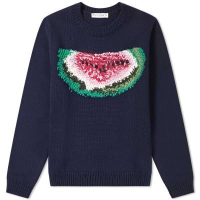 JW Anderson Watermelon Crew Knit