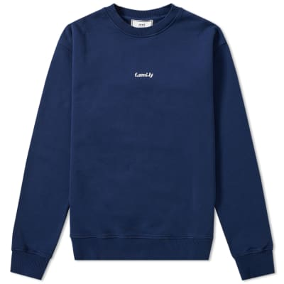 AMI f.ami.ly Embroidered Crew Sweat
