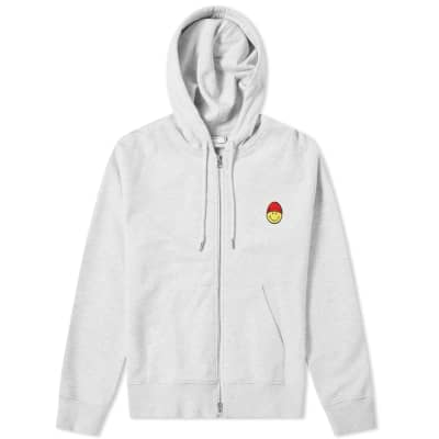 AMI Smiley Zip Hoody