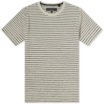Rag & Bone Railroad Stripe Tee