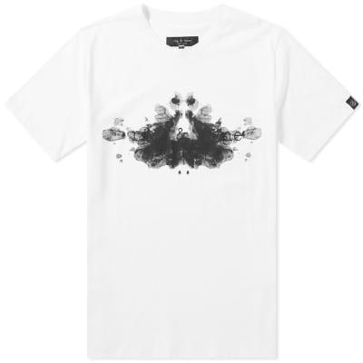 Rag & Bone Rorschach Logo Tee