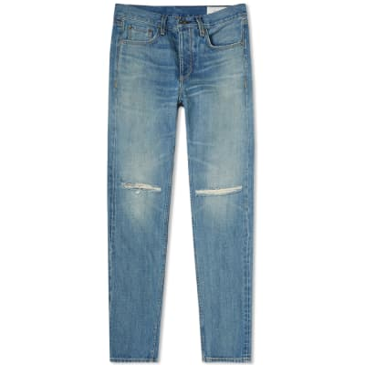 Rag & Bone Slim Distressed Jean