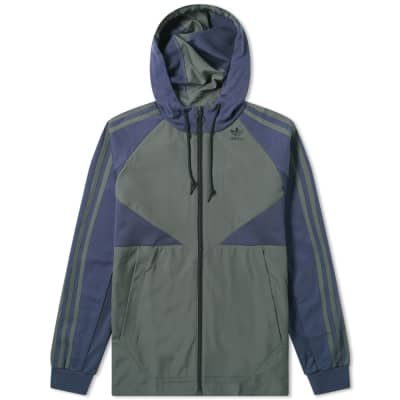 Adidas Full Zip Windbreaker Hoody
