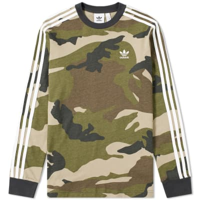Adidas Long Sleeve Camo Tee