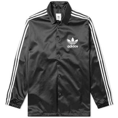 Adidas Satin Coach Jacket