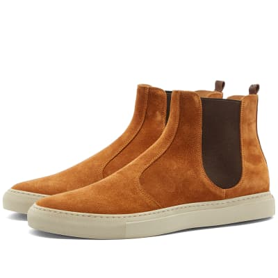 Buttero Tanino Suede Chelsea Boot