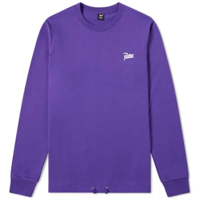Patta Long Sleeve Athletic Drawcord Tee