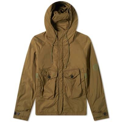 Ten C Lightweight Tempest Hooded Reflective Jacket