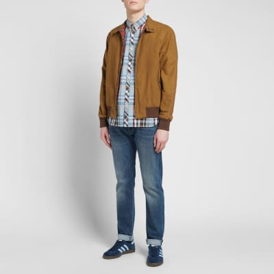 Fred Perry Madras Check Button Down Shirt