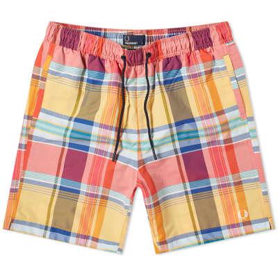 Fred Perry Madras Check Swim Short