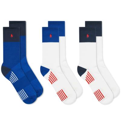Polo Ralph Lauren Pony Sport Sock - 3 Pack