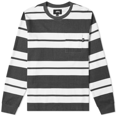 Stussy Franklin Stripe Crew Sweat