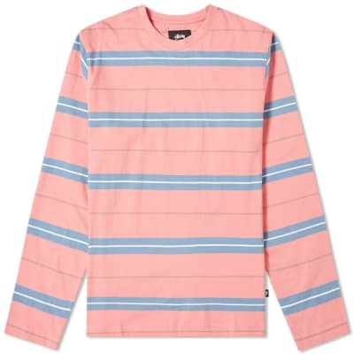 Stussy Joshua Stripe Crew Sweat