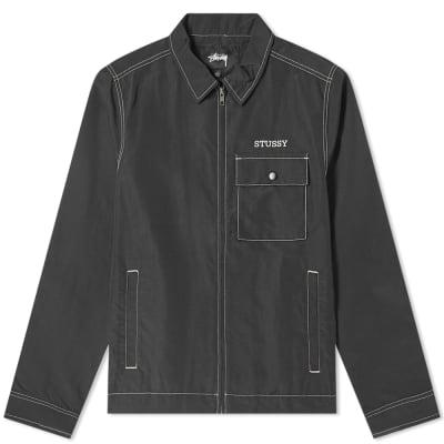 Stussy Nylon Zip Jacket