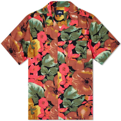 Stussy Watercolour Flower Shirt