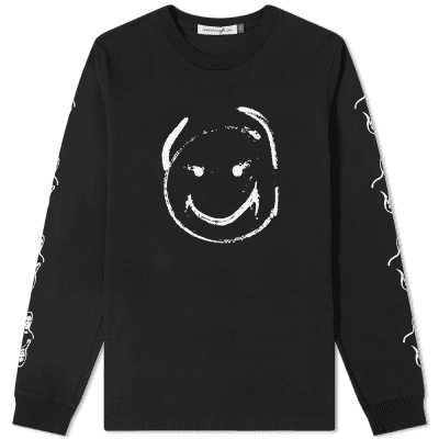 Undercover Long Sleeve Smiley Tee