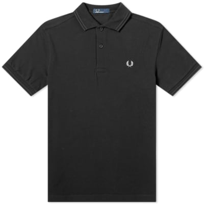 Fred Perry Authentic Embroidered Back Laurel Polo