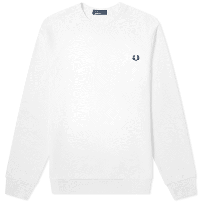 Fred Perry Authentic Reverse Wreath Applique Sweat