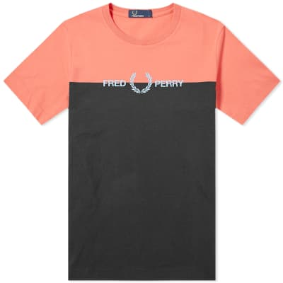 Fred Perry Authentic Split Logo Tee
