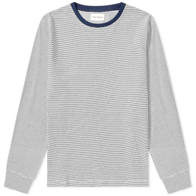 Oliver Spencer Long Sleeve Serra Double Faced Tee