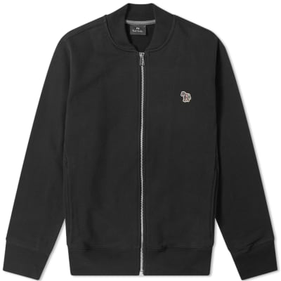 Paul Smith Zebra Zip Jersey Bomber