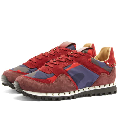 Valentino Stud Sole Rockrunner Sneaker