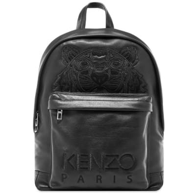 0df8373a Kenzo Leather Tiger Backpack