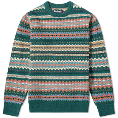 11683c44b5561a Barbour Case Fair Isle Crew Knit