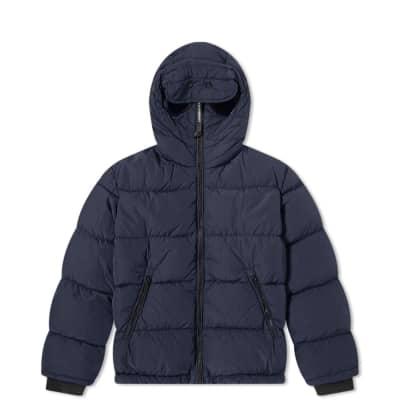 c2e044ae7 C.P. Company Undersixteen Goggle Hooded Zip Down Jacket