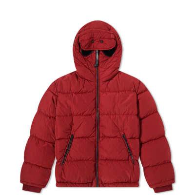 cd441b808 C.P. Company Undersixteen Goggle Hooded Zip Down Jacket