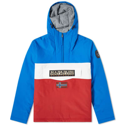 Napapijri Block Panel Rainforest Jacket