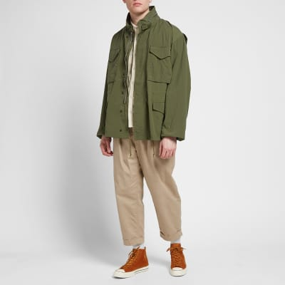Beams Plus M-65 Solid Jacket