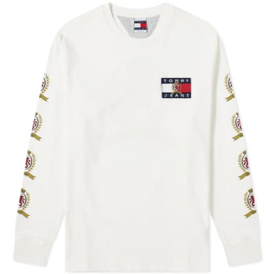 Tommy Jeans 6.0 Long Sleeve Crest Tee M28