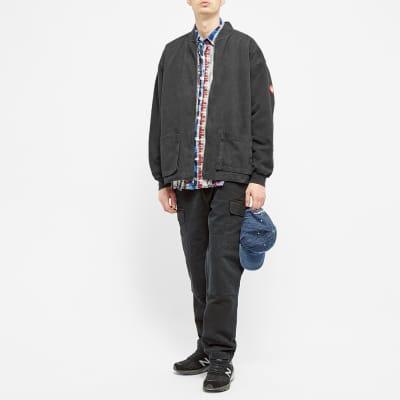 Cav Empt Sweat Sleeve Zip Jacket