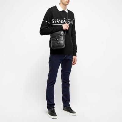 Givenchy Split Logo Crew Knit