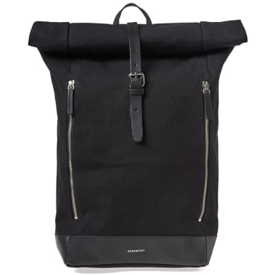 Sandqvist Marius Canvas Roll Top Backpack