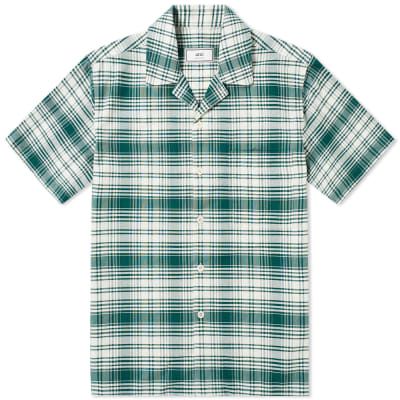 AMI Short Sleeve Check Shirt