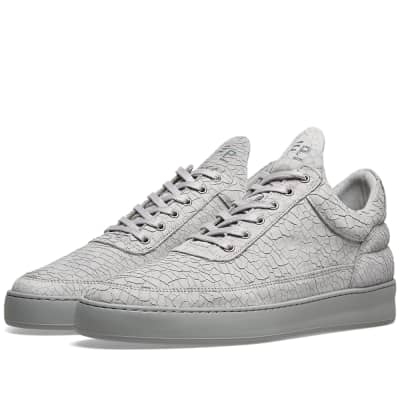 Filling Pieces Low Top Cracked Sneaker