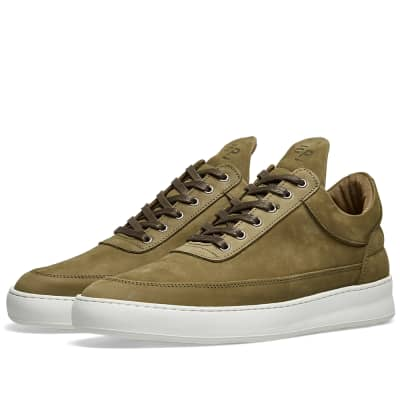 Filling Pieces Low Top Lane Nubuck Sneaker