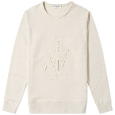 JW Anderson Jersey Cutout Anchor Sweat
