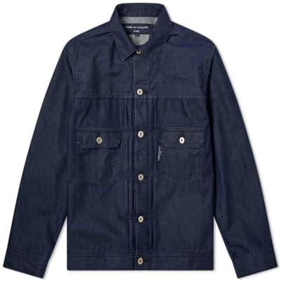 Comme des Garcons Homme Layered Denim Jacket