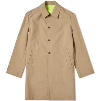 Kenzo Neon Taping Rain Coat