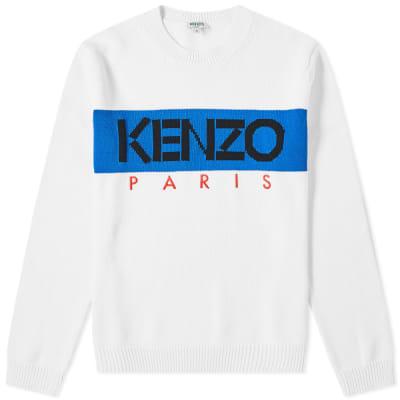 99b7ac3e Kenzo Paris Logo Crew Knit