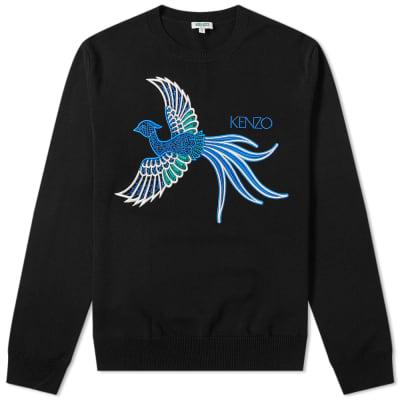 Kenzo Phoenix Logo Crew Knit