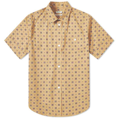Kenzo Short Sleeve Geometric Shirt