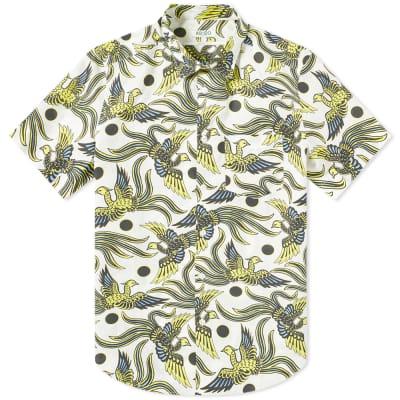 Kenzo Short Sleeve Phoenix Print Shirt