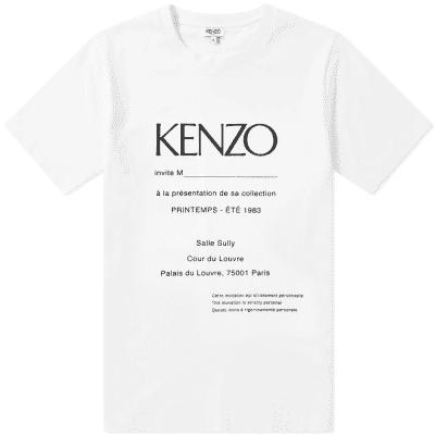 Kenzo Show Invitation Tee