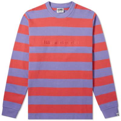 Billionaire Boys Club Long Sleeve Heavy Stripe Tee
