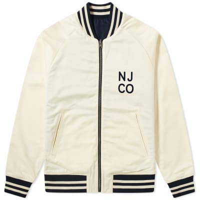 Nudie Mark Reversible Varsity Jacket
