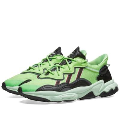 4a294c5037374 Adidas OzweegoGreen, Black & Glow Green£89